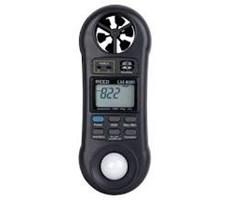 Máy đo tốc độ gió, độ ẩm, ánh sáng LM8000