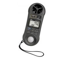 Thiết bị đo tốc độ gió, ánh sáng, độ ẩm, nhiệt độ môi trường LM-8000A