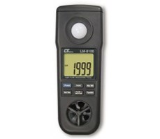 Thiết bị đo tốc độ gió, ánh sáng, độ ẩm, nhiệt độ môi trường LM-8100