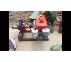 Máy bơm nước đầu nổ Diesel D15 Phi 150
