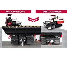 Máy gặt đập liên hợp Yanmar YH 700