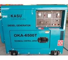 Máy phát điện chạy dầu OKASU 6500T