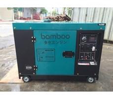 Máy phát điện Bamboo BmB 7800ET (6kw; dầu; ATS; chống ồn)