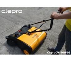 Máy quét rác đẩy tay Clepro  Model: CW-800/02