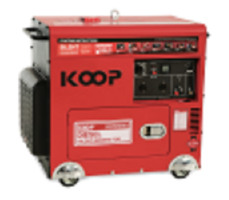 Máy Phát Điện Chạy Dầu Chống Ồn 6.0KW Koop KDF8500Q