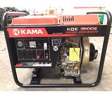 Máy phát điện 3kw chạy dầu Kama KDE3500E cho gia đình