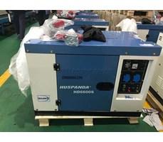 Máy phát điện Huspanda HD6600S (Máy dầu giảm âm)