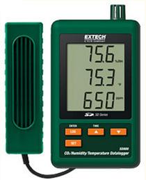 Máy đo khí CO2 nhiệt độ và độ ẩm trong nhà Extech SD800