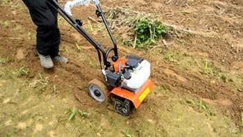 Máy xạc cỏ,xới cỏ đẩy tay động cơ 2 thì