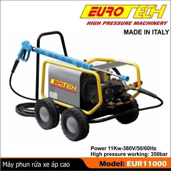 Máy phun rửa công nghiệp 11 KW, EUROTECH - ITALY
