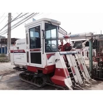 Máy gặt đập liên hợp Yanmar CA355 máy lạnh