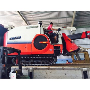 Máy gặt đập liên hợp Yanmar GC 580