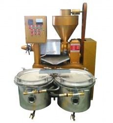 Máy ép dầu thực vật, máy ép dầu lạc, dầu vừng, đậu nành Guangxin YZYX90WZ