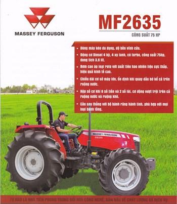 Máy cày Massey Ferguson MF415 (Nhập khẩu Brazil) Mã