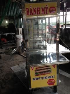 Xe bán bánh mỳ Doner Kebab Hai lò đốt trung quốc
