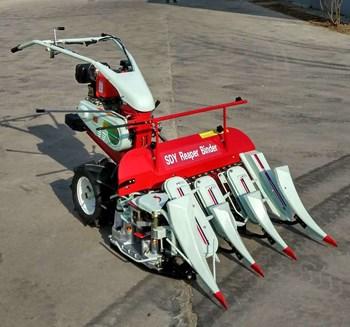 Máy gặt tự bó kamast 4K-90 chạy dầu