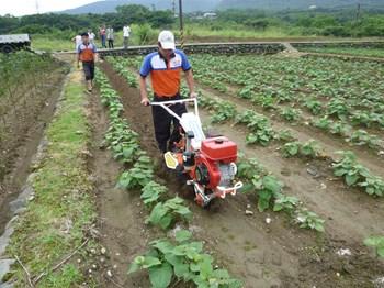 Máy Xới đất Vun luống tạo rãnh EI-101 Nichino Đài Loan