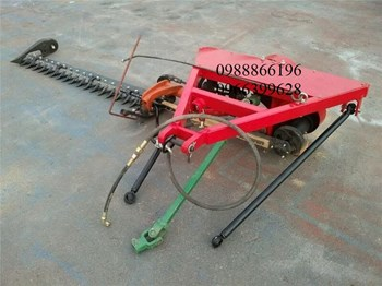 Dàn máy cắt cỏ  lắp sau máy cày kamast 2019