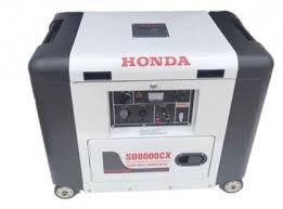 MÁY PHÁT ĐIỆN HONDA SD8000EC chạy dầu
