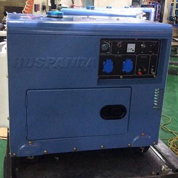 Máy phát điện Huspanda HD8600S  (Máy dầu giảm âm)
