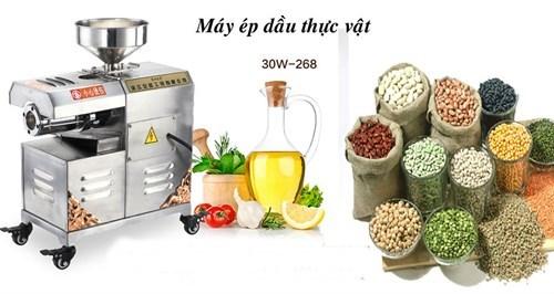 may ep dau thuc vat 30w-268 hinh 1